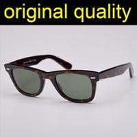 جودة عالية أشعة 2140 50 ملليمتر 54 ملليمتر حجم نظارات الرجال النساء خلات الإطار العدسات الزجاج الحقيقي المرأة رجل نظارات الشمس oculos دي سول