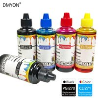 DMYON PGI270 CLI271 حبر عبوة كيت متوافق مع طابعة Canon Pixma MG5720 MG5721 MG5722 MG6822 MG6821 MG6821 MG6822 MG7720 طابعة
