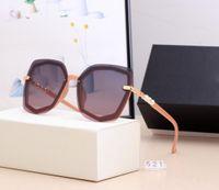 21 Hot New Fashion Designer Sonnenbrille Hohe Qualität Marke Polarisierte Linse Sonnenbrille Brillen Eyewear für Frauen Brillen Metal Fram 521