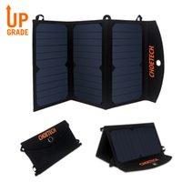 CHOETech 19W Chargeur solaire Chargeur de panneau solaire Dual USB Port USB pliable imperméable à vélo / randonnée / pique-nique