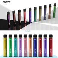 Iget XXL Einweg-Pod-Gerät Zigaretten 1800 Puffs Vorgefülltes Vape-Stift 7ml-Patronen 950mAh E-Zigaretten 22 Farben