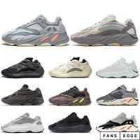 Верхняя волна бегун 700 Blush Bestern крыса соли 700V2 белые черные кроссовки Kanye West Men Женские кроссовки кроссовки спортивная обувь 36-45