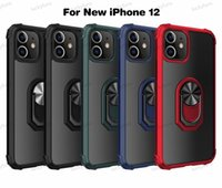 Back Cover Cellphone Cases For iPhone 12 11 Pro Xs MAX Xr 6 7 8 Plus Mobile Accessories kickstand finger ring Phone Case