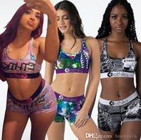 Diseñador Ethika Mujer trajes de baño Deserger Traje de baño Traje de baño Sujetador deportivo + Pantalones cortos Troncos de 2 piezas Ropa de playa de secado rápido Bikini Set Ropa XS-XL DHL