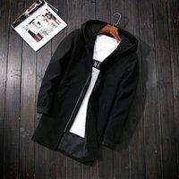 2021 Nouveau et vestes Green Mens Manteaux Casual Homme Veste à capuche à capuche PLUS Taille 5XL Outwear manteau Hommes Vêtements Fyy692 Lert