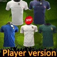 2021 2022 Italia Player-Version Fussball Trikots 20 21 22 Italien Männer Chiellini El Shaarawy Bonucci Insignente Bernardeschi Football Hemd Jersey