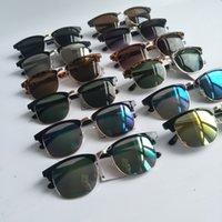 하프 프레임 투어링 태양 안경 브랜드 운전 남자 여성 선글라스 야외 드라이버 디자이너 UV400 안경 여름