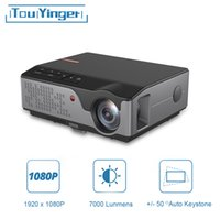 Touyinger Full HD Projector RD826 TD96 Android WiFi LED Proyector Native 1920 x 1080P 3D Home Theater Smart Phone Beamer