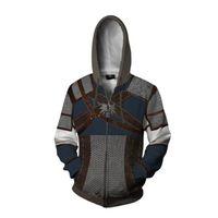 3D печатный Witcher 3 Wild Hunt Hoodie Мужчины Женщина Толстовки Уличная Одежда Топ Толстовка с капюшоном 201128