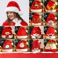 38 style Christmas-Hat Christmas Decorations cap kids Adult Xmas caps Home Decoration Xmas Party Hats Xmas Decor T9I001586