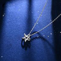 HBP мода роскошь новая мечта звезда ключицы цепь женские корейские простое серебряное ожерелье