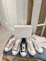 المرأة عارضة الأحذية المصمم الكلاسيكية السيدات قماش أحذية رياضية مطبوعة أبيض العجل جلدية مرتفعة تسولي 3-D نمط محفورة الثقوب المدربين