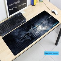 Mouse Pads & Wrist Rests Mairuige Designs Gun Comfort Mat Gaming Large Lock Edge Mousepad Size For 300*700*2mm And 400*900*3mm CSGO