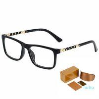Luxus-Serie Mann-Brillen Harry Potter derselbe Stil Kein degrad transparenter Linsenmode Top Qualität High-End-Frauengläser mit Comp