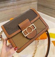 Luxurys Designer Umhängetasche Hohe Qualität Klappe Kleine Handtaschen Brieftasche 2021 Frauen Taschen Crossbody Geldbörsen Gedruckt Mode Cowboy Cross Body Handtasche