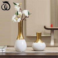 Wu chen lungo stile cinese in ceramica vaso antico decorazione decorazione creativa luce di lusso soggiorno TV cabinet home decor A2376