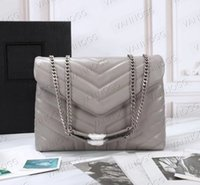 VANNOGG square fat LOULOU bag Hot selling Designer purses handbags genuine leather women bags crossbody messenger chain bag high quality 25,32cm