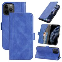 Leather Phone Cases Classic Wallet Shockproof With Kickstand Flip Cover For iPhone 13 Pro Max 12 mini 11 Xs Xr 6 7 8 Plus Book Case