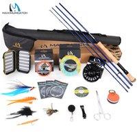 Maximumcatch 9FT 8-10WT Complete Saltwater Rod Reel Lijn Haken Accessoire Combo Full Sea Fishing Rod Kit