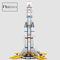 Malailiers 332pcs Space Shuttle Building Blocks Astronave Astronave Astronaute Astronaut Bricks Toy per bambini