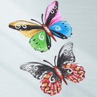 Wall Stickers 2021 Metal Butterfly Art Decor Sculpture Hanging For Indoor And Outdoor SAV Drop