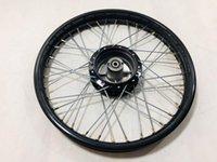 Мотоциклетные колеса шины JH70 Front 1.6x17 задний 1.85x17 черное колесо обод