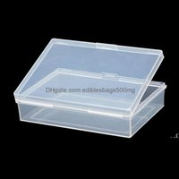 Bins Housekee Organization Home & Gardentransparent Plastic Boxes Playing Cards Container Pp Storage Case Packing Poker Game Card Box Fwa712