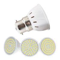 전구 2835 SMD B22 옥수수 전구 LED 절약 램프 슈퍼 밝은 컵 조명