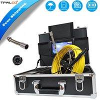 "Sistema de endoscopio de inspección de tubería de drenaje con 23 mm Cámara de cámara DVR Contador ABS Caja de ABS 7 ""Monitor 20 / 30M Cable"
