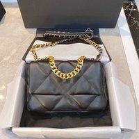 2021 Bons vendas Luxurys Designers Saco 19 Série Handbags Mulheres Ombros Sacos Tote Designer Crossbody Bolsa Chain Moda Bolsas com alta qualidade