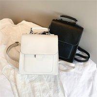 Backpack Style Small PU Leather Women Mini Back Pack Travel Female High Quality Bookbag School Bags For Teenage Girls Mochila Feminina