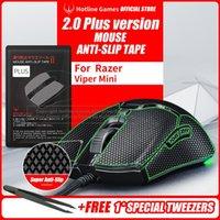 Fareler Holtine Oyunları 2.0Plus Mouse Kaymaz Kavrama Bant Razer Viper Mini, Kavrama Yükseltme, Nem Wicking, Ön Kesim, Uygulaması Kolay