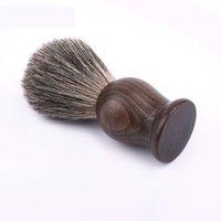 Badger Hair Rasatura pennello fatto a mano Badger Silver-Tip Brushes Rasatura strumento rasatura rasoio