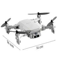 Mini RC Drone UAV Quadcopter с камерой WiFi FPV Воздушная фотография Вертолет Складное Светодиодное Светодиодное качество Глобальная игрушка ASST