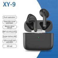 التحكم في مستوى الصوت TWS سماعات بلوتوث سماعات لاسلكية سماعات ماء للهواتف المحمولة OEM الأذن القرون سماعة XY-9