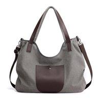 Cross Body Large Capacity Casual Art One-shoulder Woman Bag, Retro Simple Tote Canvas Bag