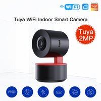 MoesHouse Tuya PTZ WiFi IP Camera Smart Automatic Tracking 1080P Wireless Security AI Human Detection Remote Control