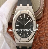 N8 Factory 8 color High quality Watch 41mm 15400 15400OR.OO.D002CR.01 Leather Bands Strap Asia Transparent Mechanical Automatic Mens Watches-1-
