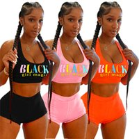 Summer Womens Tracksuits sexy two piece set Shorts outfits sleeveless jogging sportsuit shirt pants suits sweatshirt sport suit