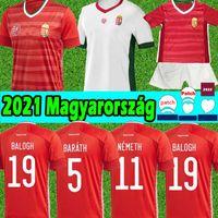 2021 المجر لكرة القدم الفانيلة المنتخب الوطني Magyarország جيرسي دومينيك Szoboszlai Puskás Willi Orban Tamás Kadar 2022 قمصان كرة القدم موحدة