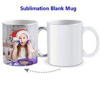 Sublimatie lege mok gecoat 11oz keramische beker DIY sublimatie kleurveranderende coating water cup 330ml door zee schip HH21-102