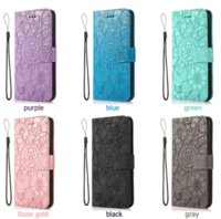 Three-card embossed leather phone cases for iphone13 pro max 12 min 11 X XR XS 7 8 plus SE case cover
