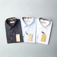 2021 디자이너 망 드레스 셔츠 비즈니스 패션 캐주얼 셔츠 브랜드 남성 셔츠 봄 슬림 피트 셔츠 화학 물질 드 Marque 붓는 햄페스