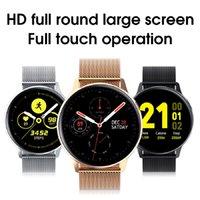 جديد S30 الذكية ووتش الرجل ECG معدل ضربات القلب الساعات الجسم درجة حرارة النوم مراقب للماء smartwatch لالروبوت