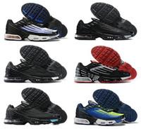 Remise TN 3 Avenue 2021 Plus 2 Big Taille US 12 Chaussures de course Tennis Sports Sports Mens femmes Tous Black Bright Neon Rugby Blanc Hommes Femmes Formateurs Jogging en plein air Marcher