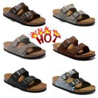 2021 BIRKS CLASIC ARIZONAS GIZEHS Hausschuhe Flipflops Caliente Verano Hombres Mujeres Sandalias Planas Zapatillas de Corcho Unisex Zapatos Casuales