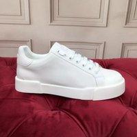 جديد أحذية رياضية مصمم أحذية رياضية جلدية مطابقة الدانتيل السيدات أبيض هارب سلسلة أزياء بسيطة مريحة لينة تشغيل الترفيه التسوق حجم 35-41