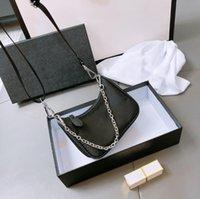 Mini Designers Luxurys Väskor 2st Bästa Kvalitet Axelväskor Mode Bra Match Crossbody Bag Nylon Single Crossbody Presenter med låda