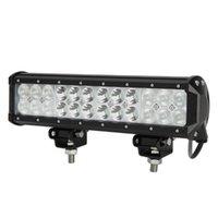 """12 """"72W Cree LED Light Light Bar 7200LM 24 PZ 3W Cree Impermeabile per Jeep Off Road Van ATV AWD SUV 4WD 4x4 Pickup Van Off-Road"""