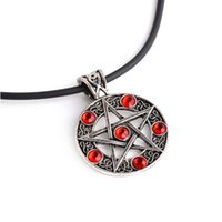 Pendant Necklaces Supplies Beautiful Cute Chic Pentacle Star Necklace Vintage 2021 Handmade Products Individual
